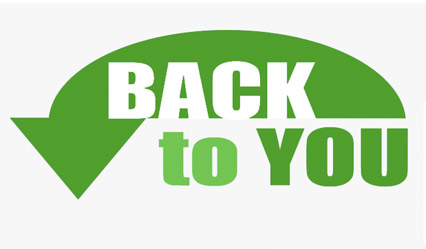 Back to You Logo